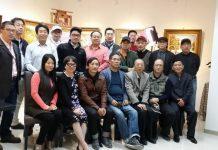 上海师范大学美术学院四届油画研究生班同学毕业数年后再相聚
