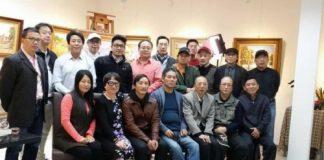 上海师范大学美术学院四届油画研究生班同学聚会