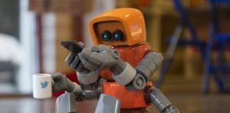 科技如此神奇 感受超级炫酷的卡通机器人