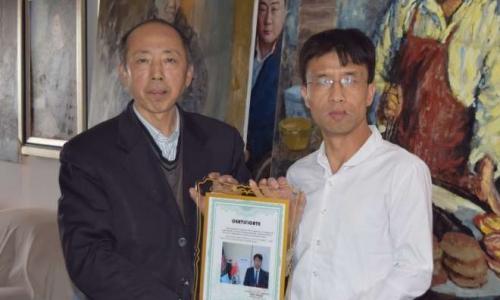 美国总统候选人川普写给中美艺术家协会副会长美籍华人苏东坡教授的第二封信