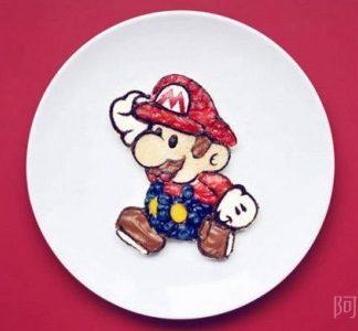 美食艺术家的有趣创作
