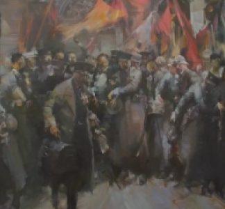 著名油画家俞晓夫的油画作品介绍