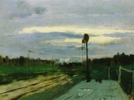 俄罗斯著名风景油画家 列维坦